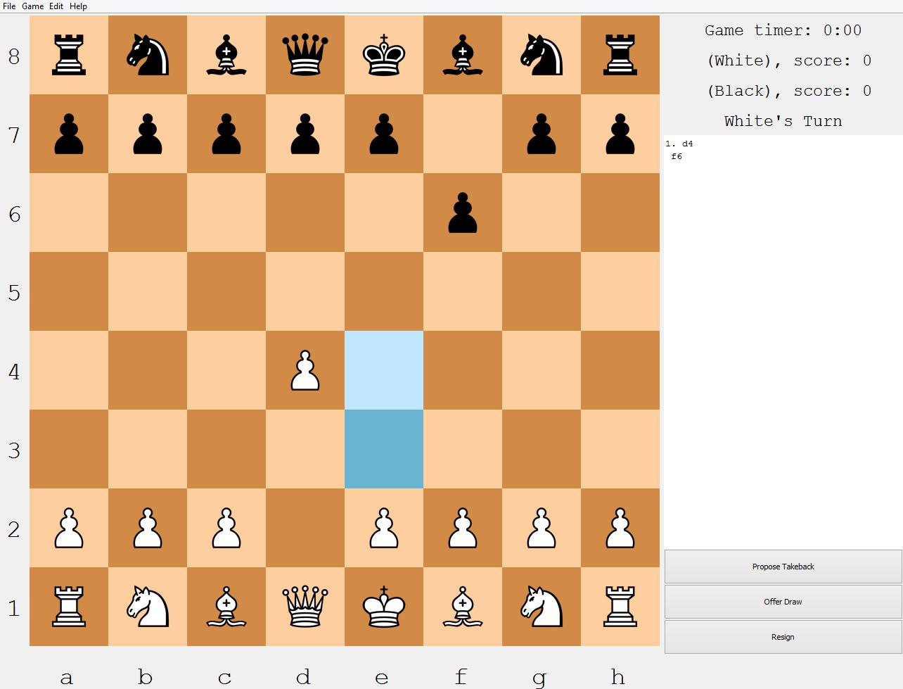 flash chess game